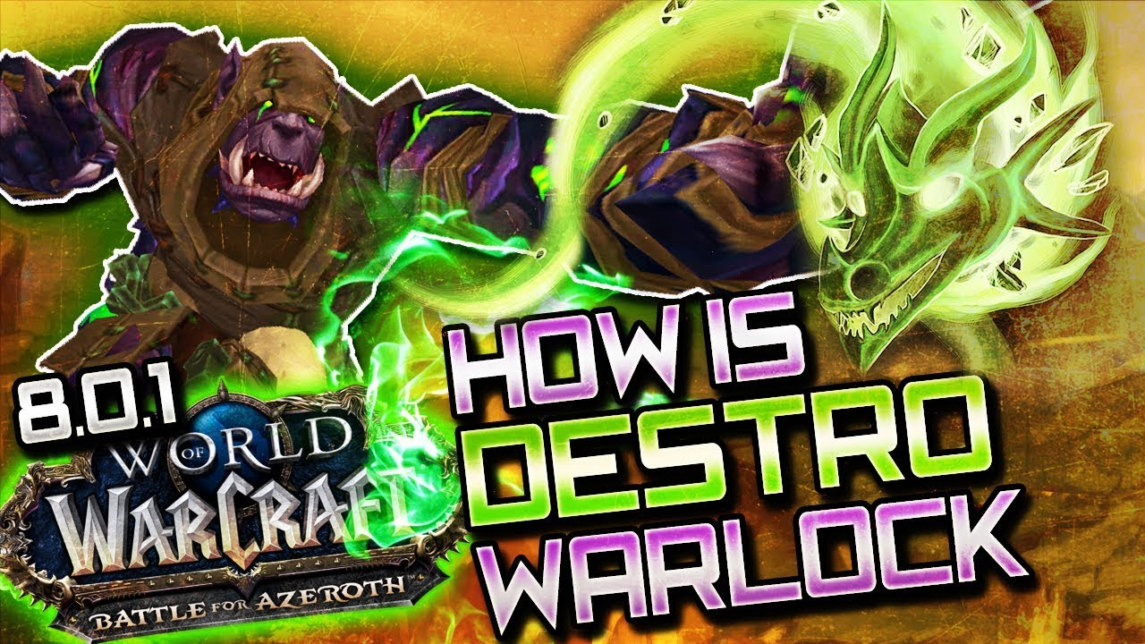 Best in slot destruction warlock - Table of Contents