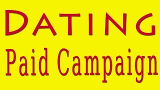 Dating paid campaign | Trafficjunky