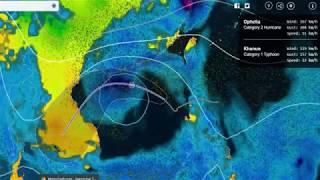 Cập nhật hướng đi của bão số 11