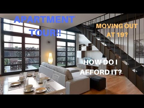 How I Moved Out at 19!! How I Afford Rent and Apartment Tour!!