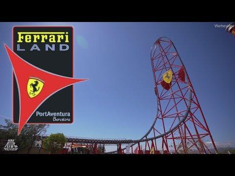 Ferrari Land und die höchste/schnellste Achterbahn in Europa – Ride Review