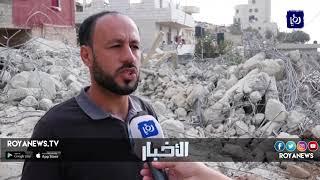 الاحتلال يهدم بناية في البيرة - (18-10-2018)