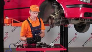 Výměna Třmen kotoučové brzdy VW GOLF: dílenská příručka