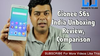 Hindi | Gionee S6S India Unboxing, Review, Pros, Cons, Comparsion | Gadgets To Use