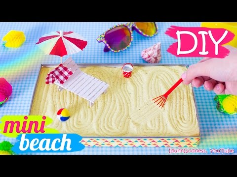 How To Make a Miniature Beach Zen Garden – DIY Stress-Relieving Desk Decoration