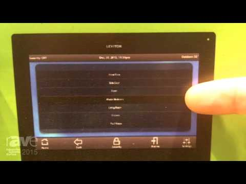 ISE 2015: Leviton Talks About OmniTouch Intercom System
