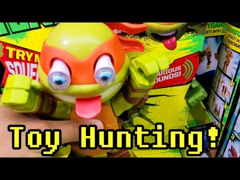 Toy Hunt: Checking Out Toys R Us And Walmart!