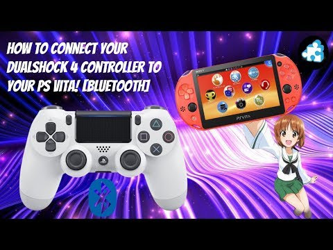 """how-to-connect-your-dualshock-4-""""ps4""""-controller-to-your-ps-vita!-[bluetooth]-(3.60-3.73)"""