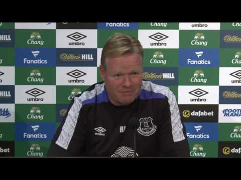 Ronald Koeman's pre-Man City press conference