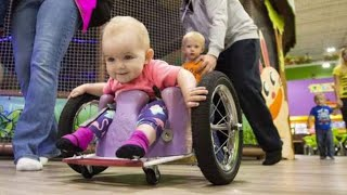 After A Tumor Left His Baby Girl Paralyzed, Dad Built Her The Most Awesome Custom Wheelchair
