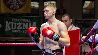 Rafał Modzel (Fight Academy Ostrołęka) po walce w KKM