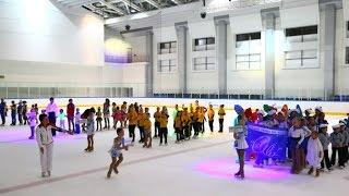 3 й Евразийский фестиваль массовых танцев на льду и фигурного катания