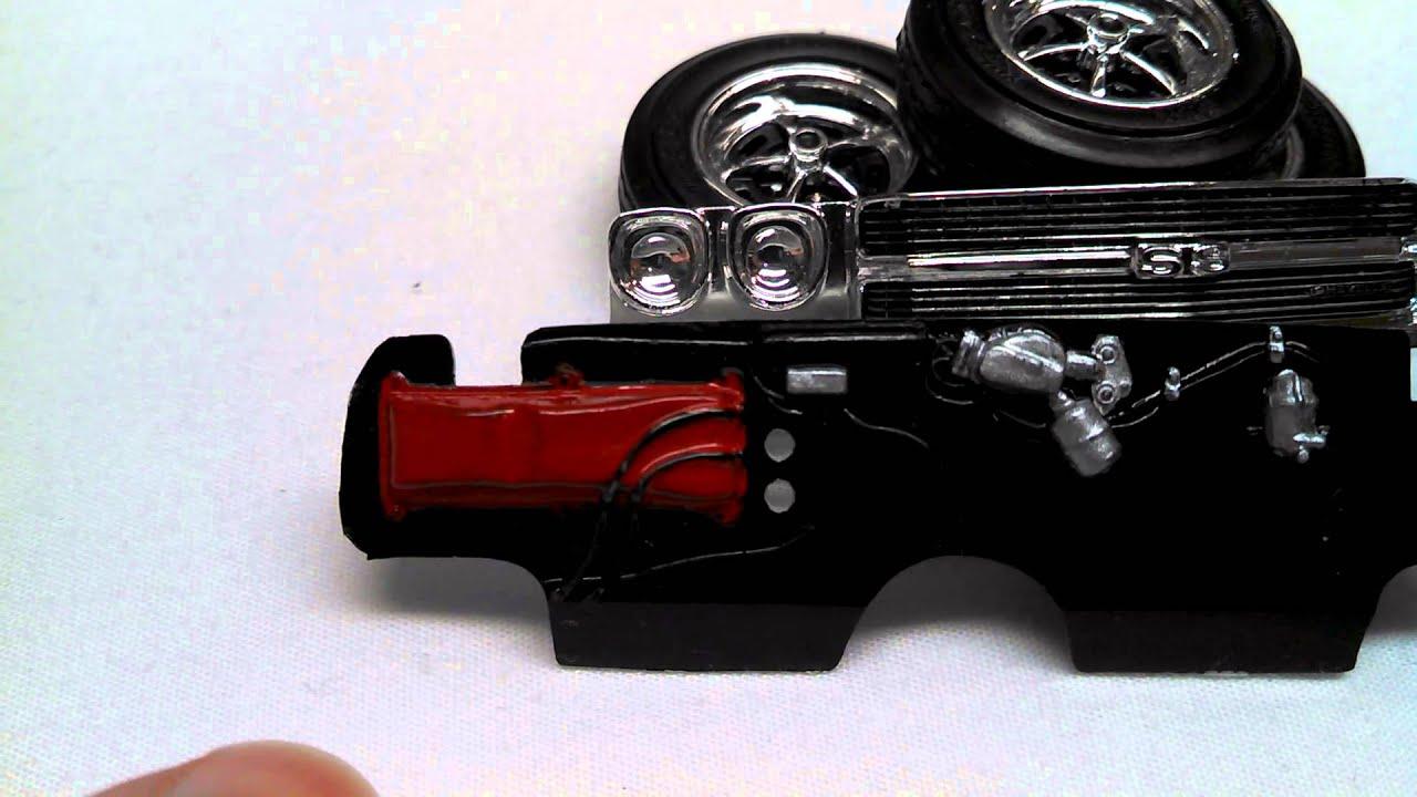 Model Car Detail Painting Tips