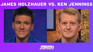 James Holzhauer vs. Ken Jennings by the Numbers | JEOPARDY!