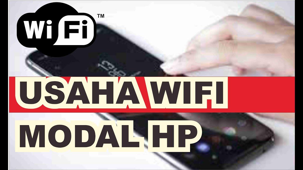 🌐 USAHA WIFI MODAL HP + RP 500.000 I VOUCERAN MIKROTIK ...