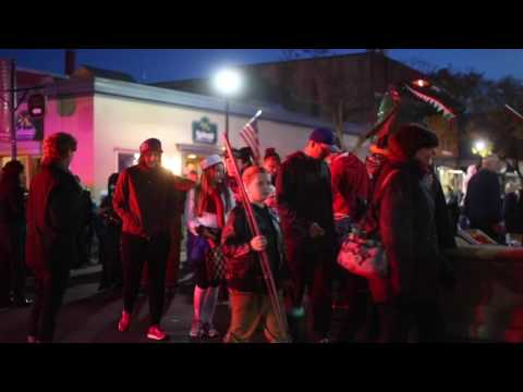 WATCH NOW: Video from tonight's Halloween parade in Geneseo. s annual Main Str…