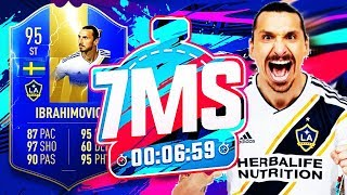 Download 95 RATED TOTS IBRAHIMOVIC!! 7 MINUTE SQUAD BUILDER!! - FIFA 19 ULTIMATE TEAM Mp3 and Videos