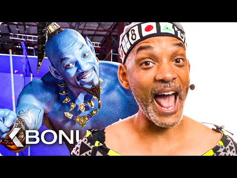Genie Behind The Scenes - ALADDIN Bonus Clips (2019)