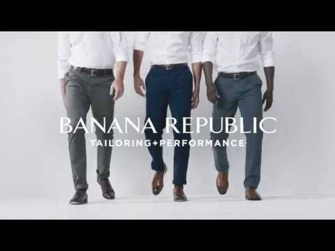 Meet the new Rapid Movement Chino | Banana Republic