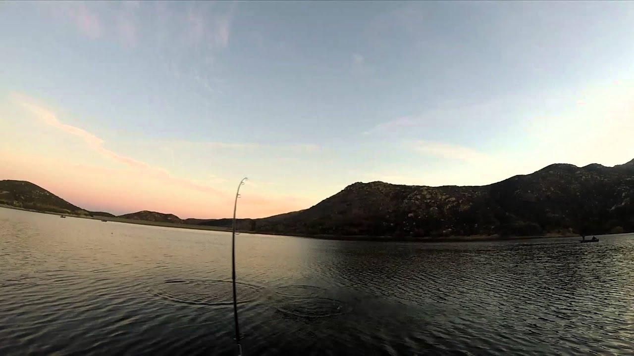 Trout fishing at poway lake 12 05 2015 youtube for Lake poway fishing