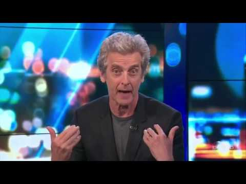 Peter Capaldi on The Sunday Project
