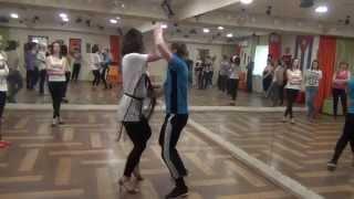 Презентация бачата на Открытых уроках в школе танцев КубА. Владимир Лизунов и Мария La Cubana