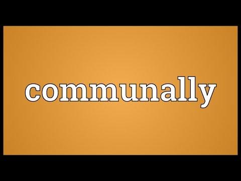 Header of communally