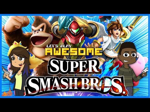 Let's Play Awesome: Super Smash Bros. Wii U
