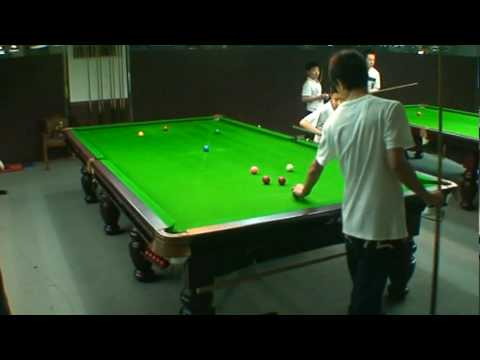 China national team coach Wu's top student(13yrs old)Zhao XingTong snooker match play(100')