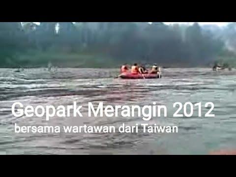 Geopark Merangin Jambi (explore with wartawan Taiwan)