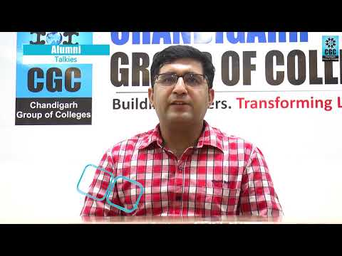 CGC proud Alumnus, Dr. Vinod Kumar Mehta, MBA Batch (2008)