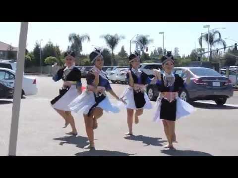 Hmong Dance | Ntxhais Nkauj Zag