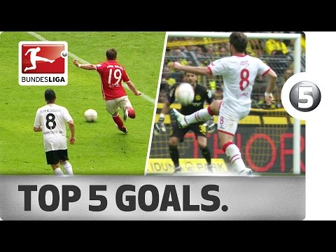 Top 5 Goals - Götze, Castro, Sane and More with Incredible Strikes