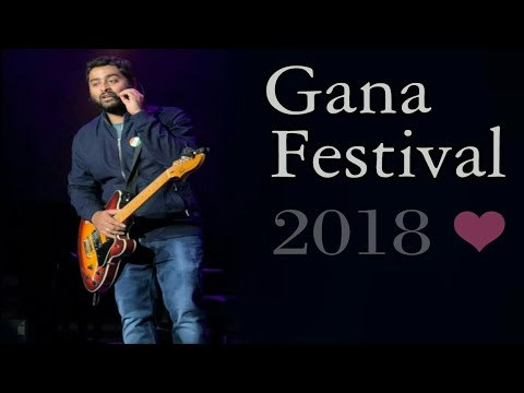 Arijit Singh ❤ Gana festival live performance || california || 20 May 2018