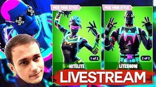 The new NEON Skinuri in FORTNITE! LIVE