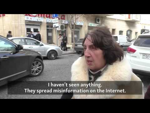 'People Are Asking For Jobs And Bread': Azerbaijanis React To Protests Following Currency Collapse