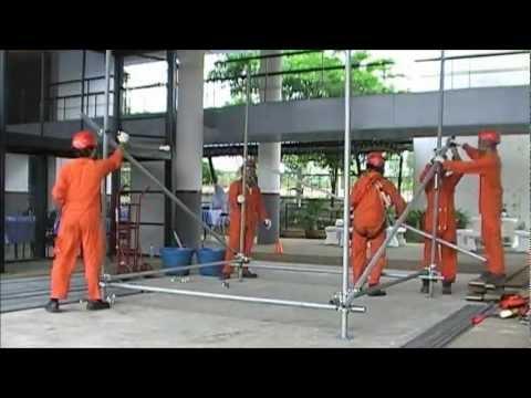 Basic Scaffolding Training by MOG Industry Training