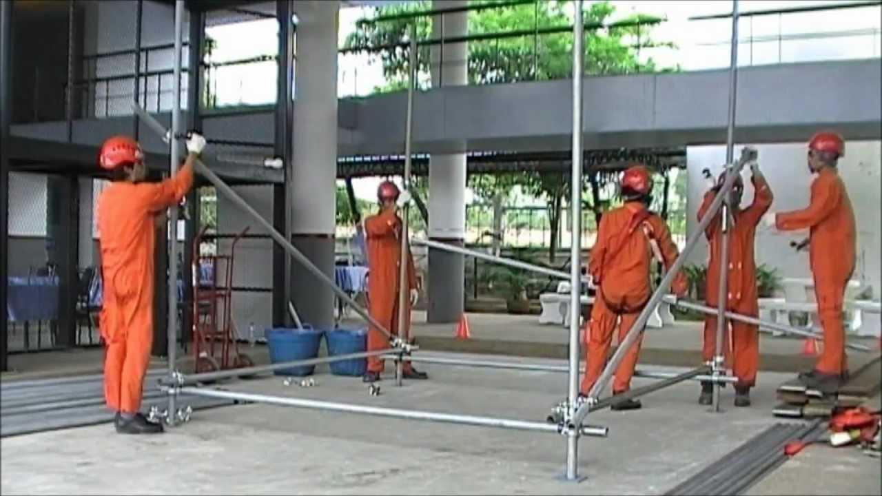 Basic Scaffolding Training By Mog Industry Training Youtube