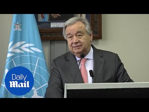 Climate Change Is The 'battle Of My Life': UN Secretary In Fiji