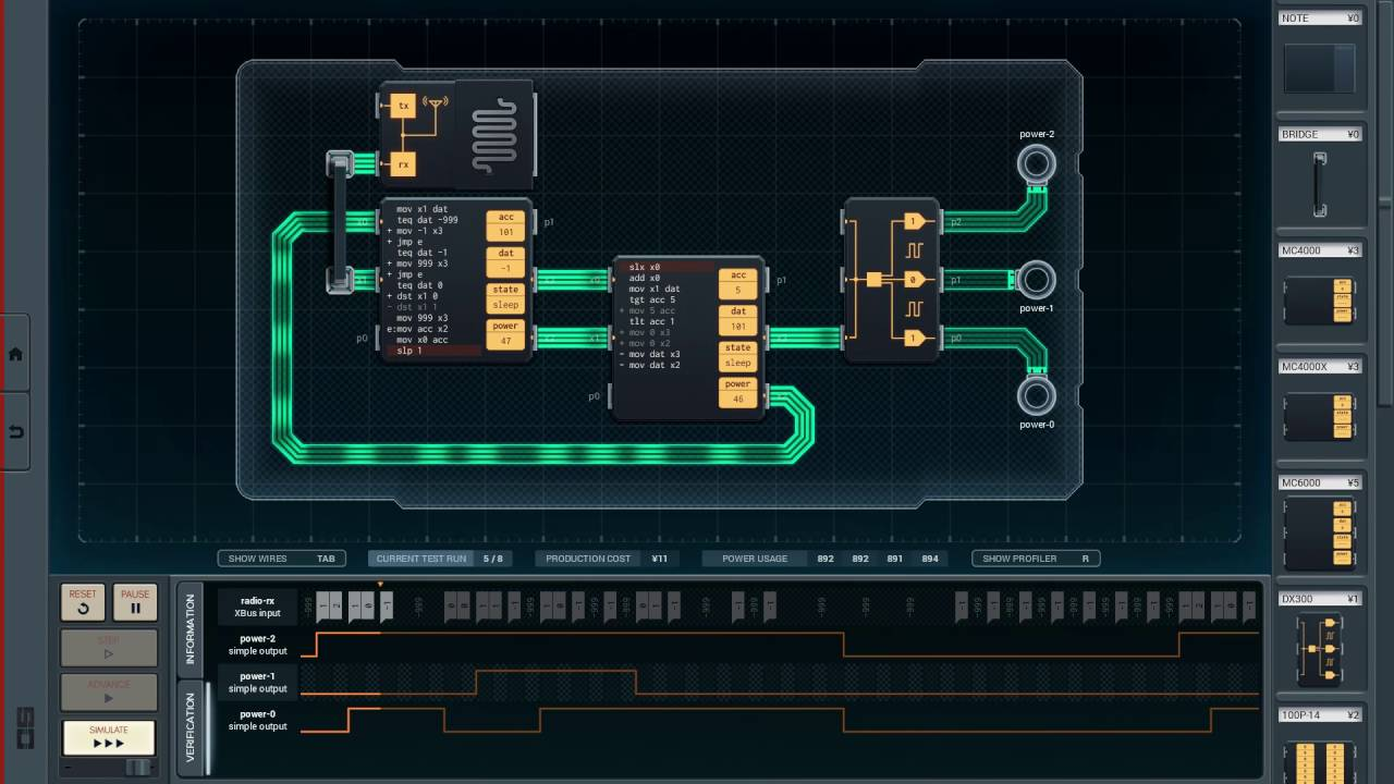 Shenzhen I/O - Remote Kill Switch - First Pass