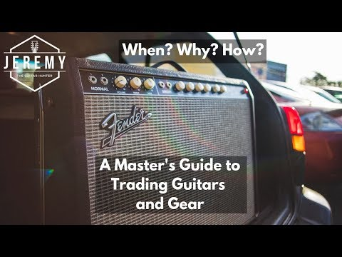 How to trade guitars and gear...trading for a Fender Vibrolux Reverb Custom Reissue
