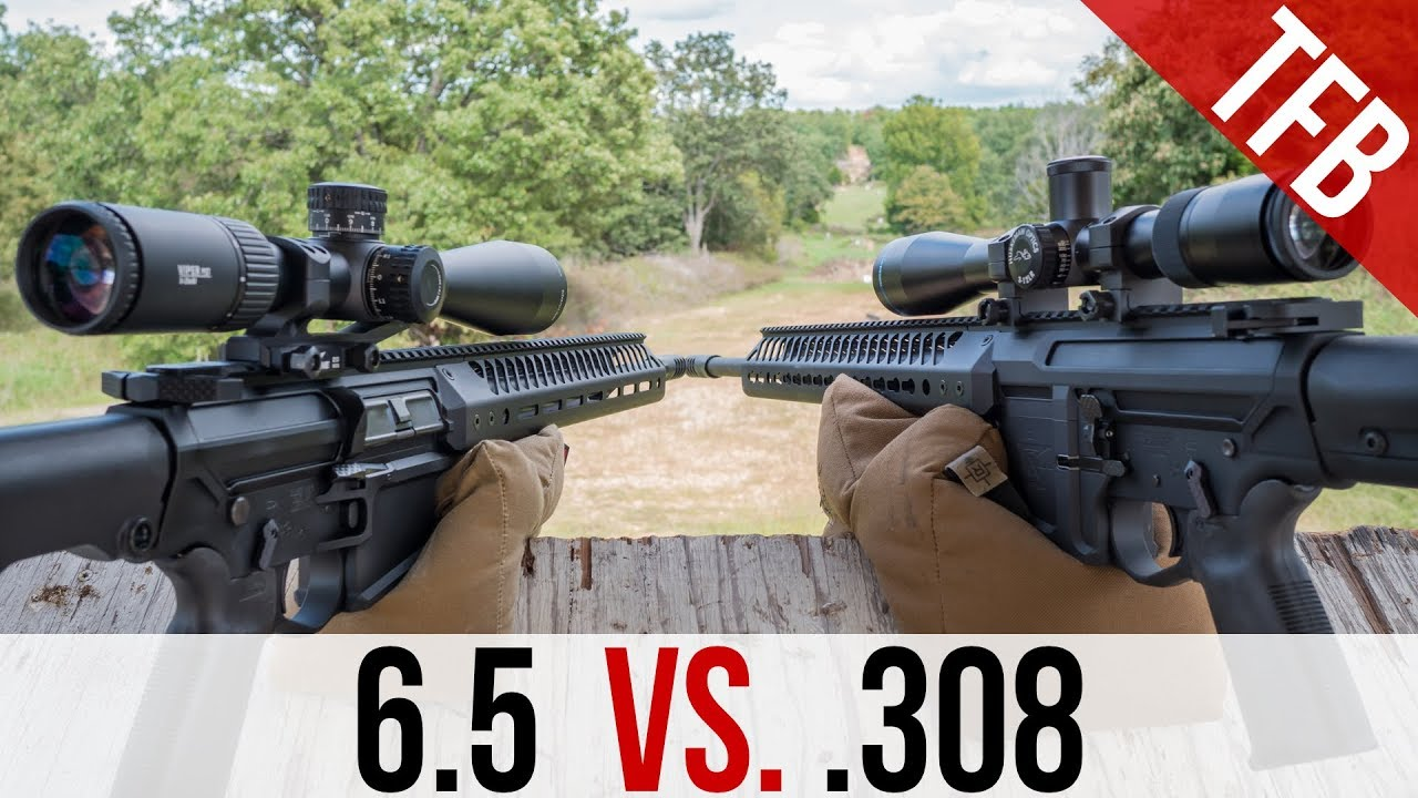 Is 6 5 Creedmoor Really Better Than 308 Youtube