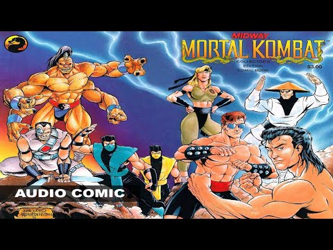Mortal Kombat (1992) Audio Comic
