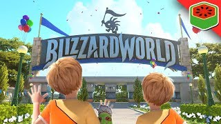 Video VIP FAST PASS - BLIZZARD WORLD! | Overwatch download MP3, 3GP, MP4, WEBM, AVI, FLV November 2018