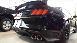 フォードマスタングFORD MUSTANG ShelbyGT350 シェルビーマフラーSport & Normal MODE 切替 thumbnail