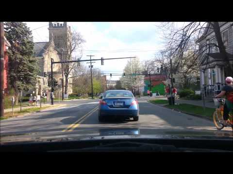 Downtown Ithaca in Spring: A driving tour set to Mozart