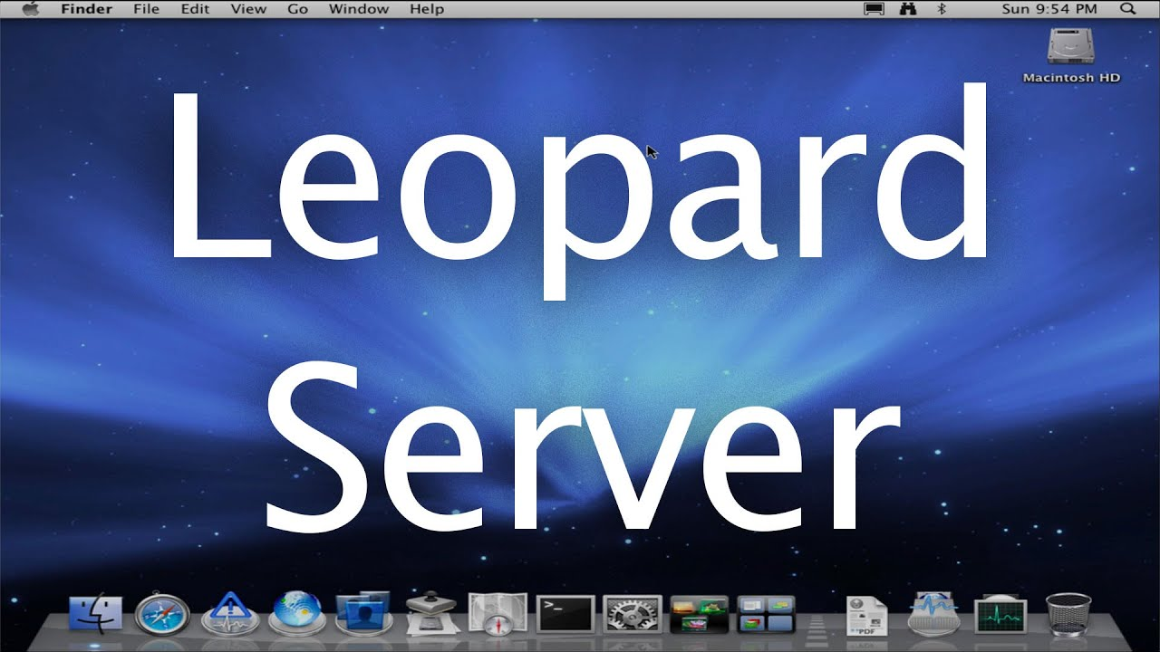 Buy Mac Os X 10.5 Leopard Server With Bitcoin