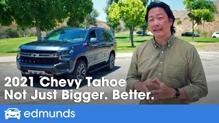 2021 Chevy Tahoe Review: Chevrolet's Big SUV Redesigned for 2021 — Prices, MPG, Interior & More!