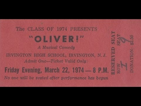 IRVINGTON, NJ....CLASS OF 1974...HIGH SCHOOL MUSICAL
