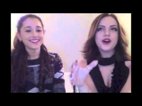Liz Gillies & Ariana Grande The Question Game - YouTube